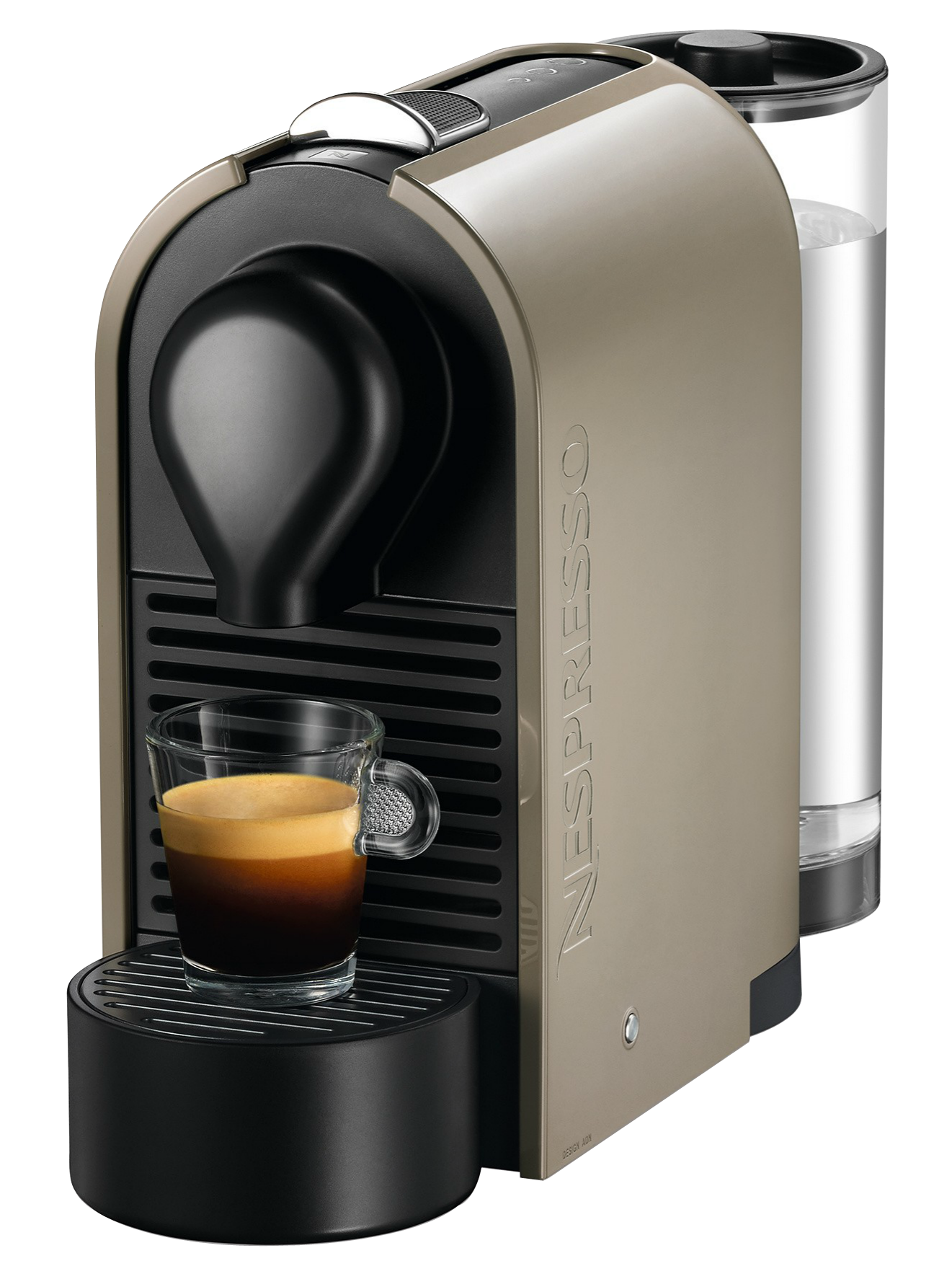 nespresso u taupe pur automatique krups yy1300fd capsules compatibles nespresso moins. Black Bedroom Furniture Sets. Home Design Ideas